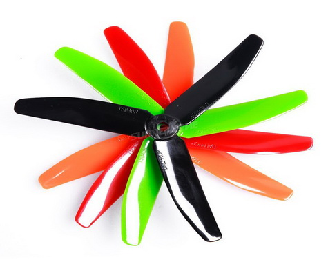 DALPROP T5040 V2 Props for FPV Racing 2 Pairs 3-blade