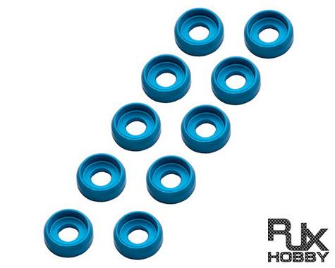 RJX 2.5mm Finish Cap (x10 PCS) Blue