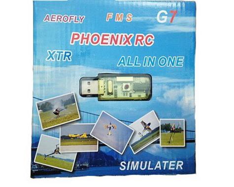 RJX DJI SB RC FPV Flight Simulator for G7 G6.5 Phoenix 5.0 Aerofly XTR VRC