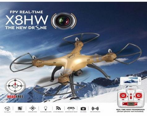 Syma X8HW 2.4GHz WIFI FPV RC Drone RTF