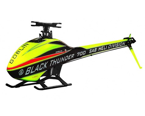SAB Goblin Thunder Sport Electric Helicopter Kit (Main & Tail Rotor Blades NOT Included)