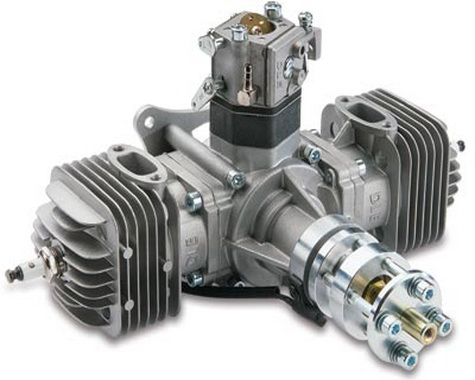 DLE-60 Gasoline Twin Engine