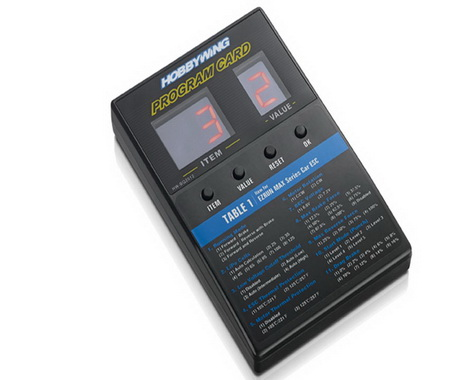 Hobbywing-LED Program Card-General Use for Cars,Boats,Air