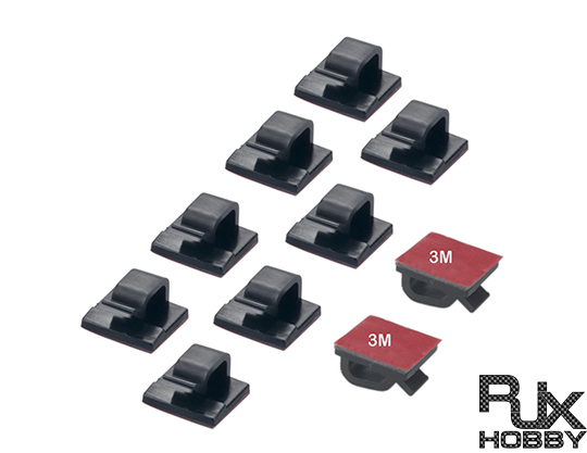 RJX Tie&#45D&#45Wires Cable & Wire Holders (10pcs)