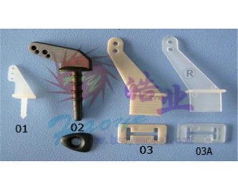 HY007-00301~03 Pin Horns / Zip Horn(10pis)